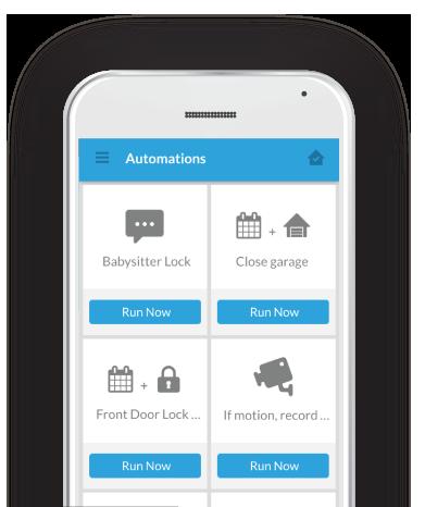 Nexia App on Phone